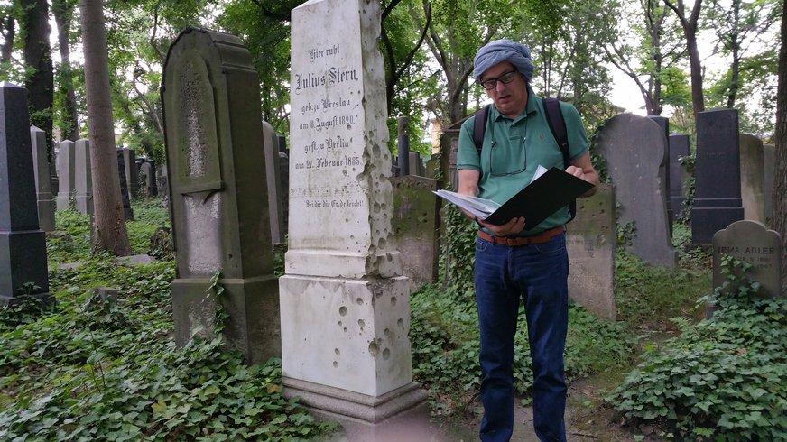 Besuch Jüdischer Friedhof