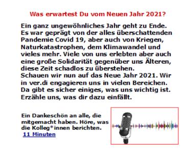 Podcast Wünsche 2021